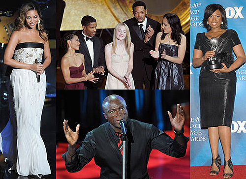 Photos of Beyonce, Jennifer Hudson, Seal and Will Smith at NAACP Image Awards 2009