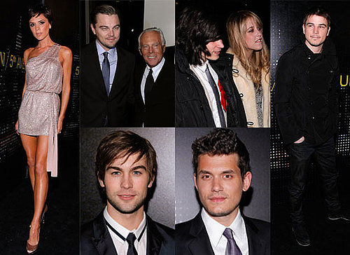 Photos of Victoria Beckham, Peaches Geldof, Chace Crawford, Leo DiCaprio, John Mayer at Armani Fifth Avenue Opening in New York