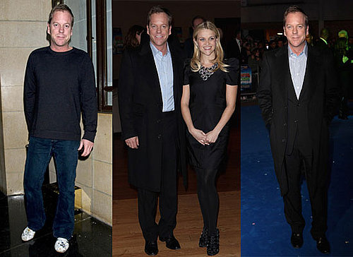 Photos of Kiefer Sutherland and Reese Witherspoon in London For Monsters vs Aliens UK Premiere
