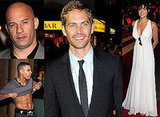 Paul, Vin and Michelle Get Fast And Furious In London