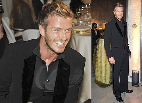Photos Of David Beckham At A Charity Dinner