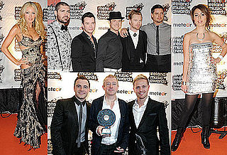 Photos of Boyzone, Westlife, Gabriella Cilmi and Caprice at Meteor Music Awards 2009