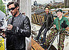Photos of Hugh Jackman Abseiling in London