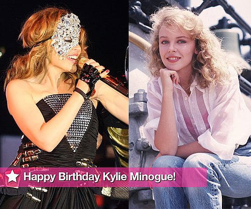 Slideshow Of Photos Celebrating Kylie Minogue's 41st Birthday, Featuring Robbie Williams, Justin Timberlake, Olivier Martinez