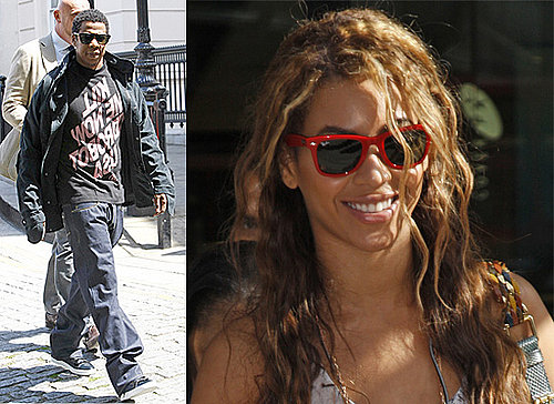 Photos Of Beyonce and Jay-Z Out In London, UK Doing Some Shopping As Beyonce Tours