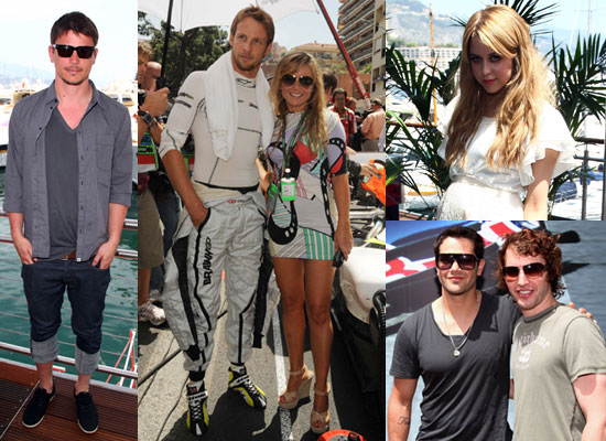 Photos of Celebrities including Geri Halliwell, Josh Hartnett, Princess Beatrice Watching Jenson Button Win Monaco Grand Prix
