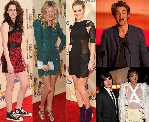 Gallery Of Photos And List Of Winners From The MTV Movie Awards 2009, Feat. Robert Pattinson, Zac Efron, Twilight, Eminem, Bruno