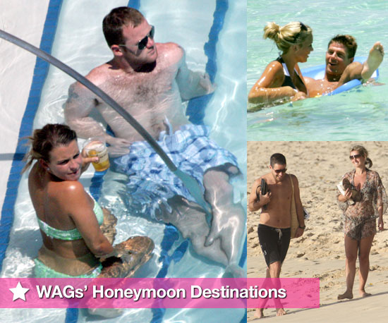 Photo Slideshow of Footballers and WAGs&#039; Favourite Honeymoon Destinations Including Rooneys, Beckhams, Gerrards, Redknapps