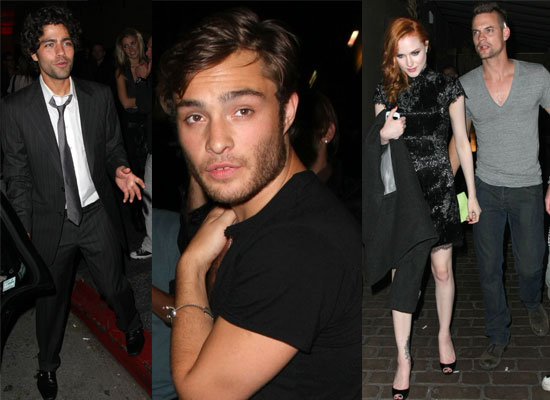 Photos Of Shane West, Ed Westwick, Evan Rachel Wood, Sara Paxton, Adrian Grenier, AnnaLynne McCord At Shane's Birthday At Bardot