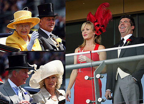 Photos of the Queen, Prince Philip, Camilla Parker Bowles, Prince Charles, Amanda Holden, Simon Cowell at Royal Ascot 2009