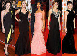 Angelina Jolie, Kate Winslet, Penelope Cruz, Emma Watson and Freida Pinto at 2009 BAFTA Awards