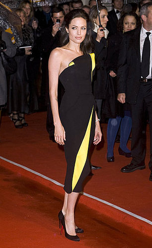 Angelina Jolie at the 2009 BAFTA Awards