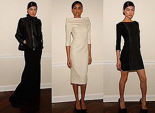 Victoria Beckham Presents Autumn Dress Line in New York