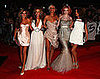 Girls Aloud at the 2009 Brit Awards
