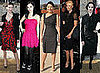 Eva Green, Charlize Theron, Leigh Lezark, Milla Jovovich at Christian Dior, Paris