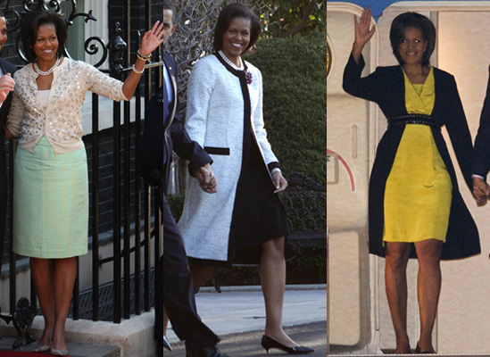 Michelle Obama&#039;s UK Wardrobe