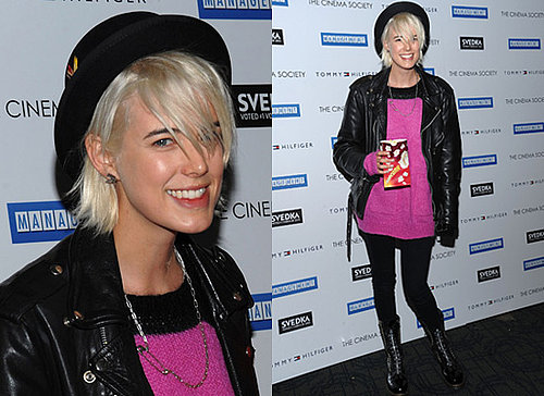 Agyness Deyn Pink Knit