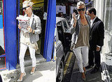 Copy Kate Moss Style Pale Jacket Jeans