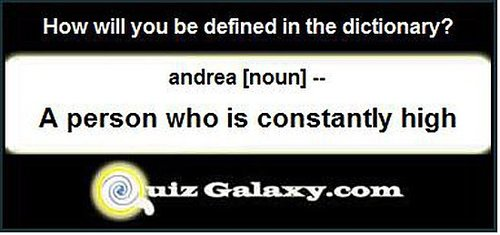 How will you be defined in the dictionary?