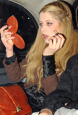 Peaches Geldof Makeup