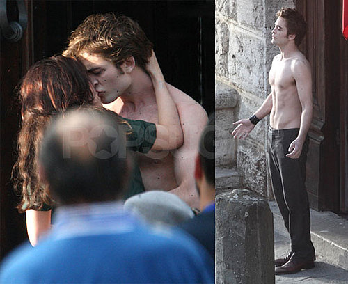 Robert Shirtless!!!!!!!!!!!!!! :)