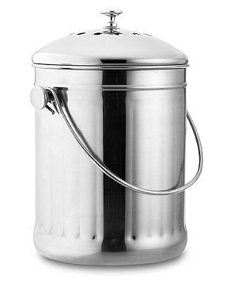 Stainless-Steel Compost Pail | Williams-Sonoma