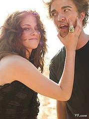Kristen Stewart and Robert Pattinson for Vanity Fair dec 2008