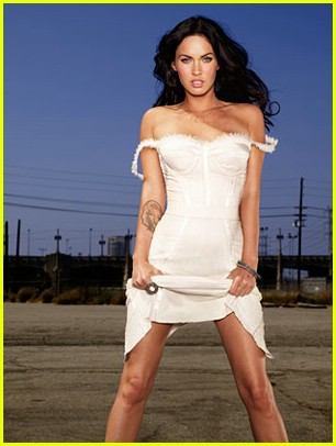 Megan Fox for Entertainment Weekly