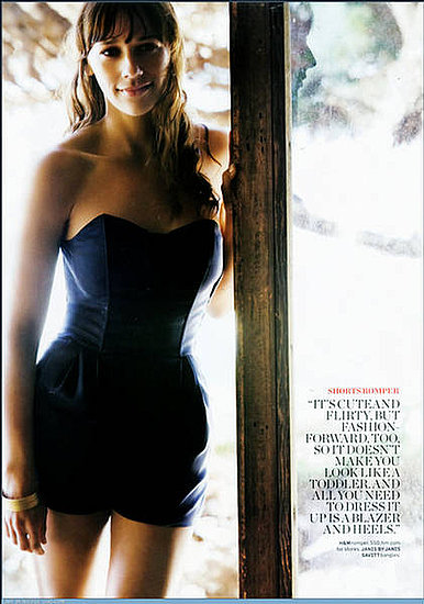 Rashida Jones does Women's Health magazine june 09