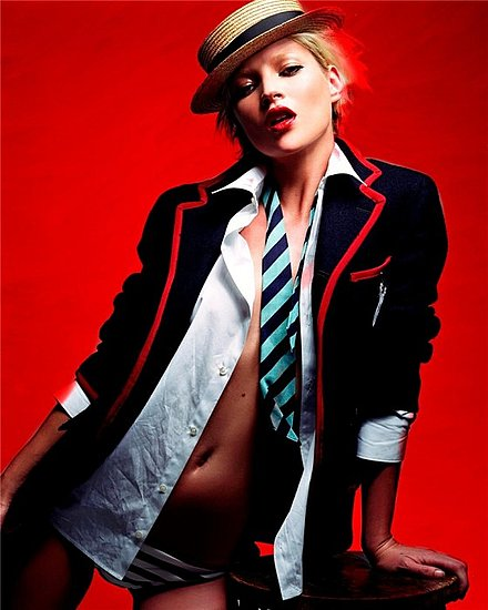 Kate Moss for Vogue UK march 09