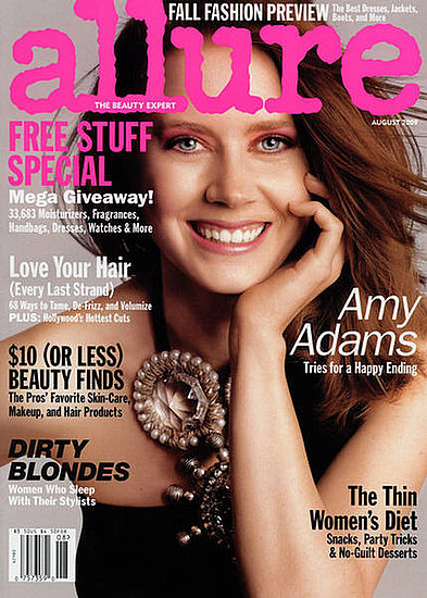 Amy Adams does Allur mag august 09