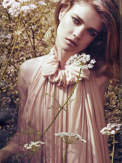 Natalia Vodianova does Harper's Bazaar UK-sept 09