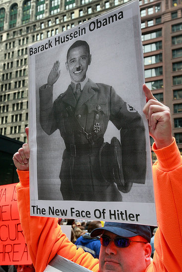 Obama Is the New Face of Hitler?