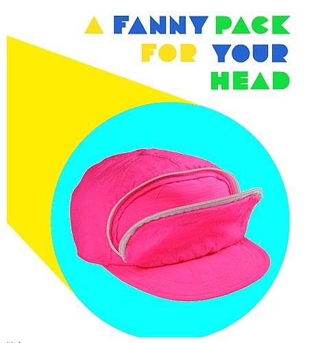 Cap-Sac, the Fanny Pack for Your Head
