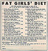 Flashback: A Diet For Every Kind of &quot;Fat Girl&quot;