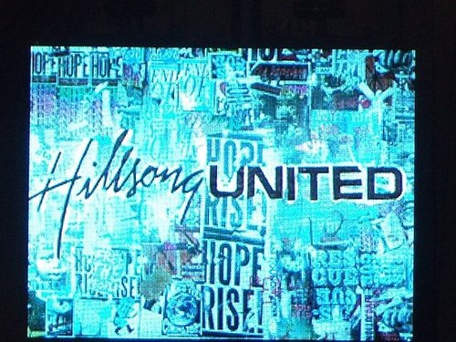Hillsong United Concert with my church!