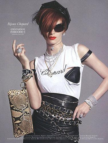 Vogue Paris - August 2009 - Signes Particuliers - Iris Strubegger