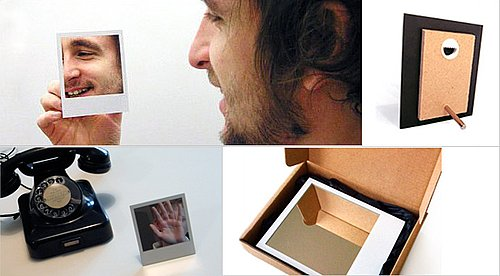Cool Idea: Polaroid Mirror