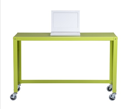 Make the functional more fabulous with CB2's Go Cart Desk ($149).