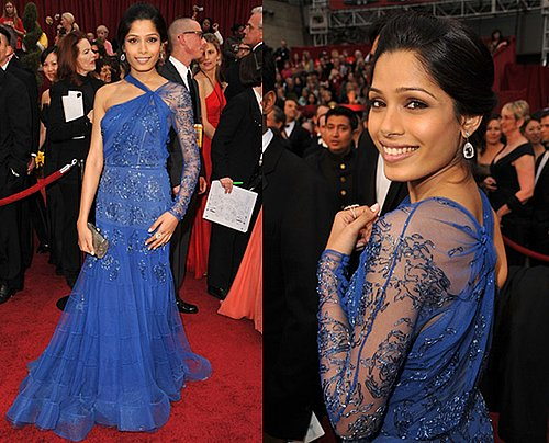 Oscar Red Carpet: Freida Pinto