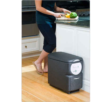 Live in an apartment? Then rely on the Nature Mill Plus ($299). It composts your food scraps in just two weeks!