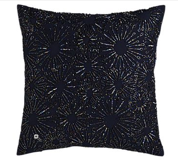 The Crate & Barrel Starry Night ($46.95) twinkles in midnight blue with comparable van Gogh-inspired beading.