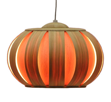 The Bentwood Lamp #3's glowing pumpkin effect is a favorite of mine.