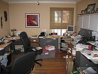 Before and After:  An Office Gets Organized