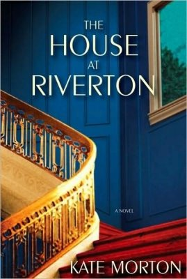 This deep, saturated blue and winding staircase illustrate the content of Kate Morton's The House at Riverton, which depicts early 20th century life at an English country estate.