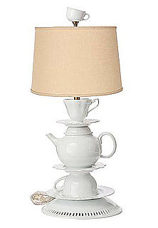 Desire/Acquire: Tea Set Lamp