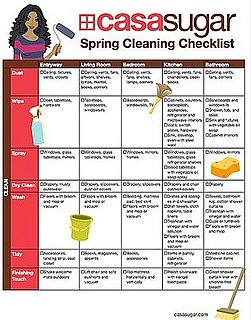 Downloadable Spring Cleaning and Organizing Checklist