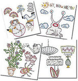 Craft shares new embroidery patterns from Jenny Hart.