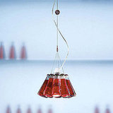 The Ingo Maurer Campari Pendant Lamp ($420) transforms a delicious Italian cocktail into a lighting refreshment.