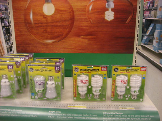 Don't forget to stock up on CFLs!